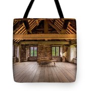 Old House Interior Tote Bag