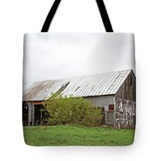 Old Weathered  Barn  Tote Bag