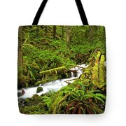 Olympic Tranquility Tote Bag