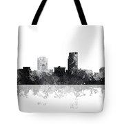 Omaha Nebraska Skyline Tote Bag