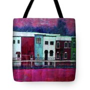On The Banks Of The Grand River Tote Bag