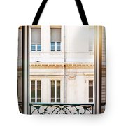 Open Window In Toulouse Tote Bag