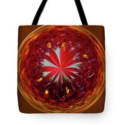 Orb Image Of A Gaillardia Tote Bag