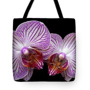 2 Orchids Tote Bag