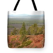 Oregon Landscape - View From Lava Butte Tote Bag