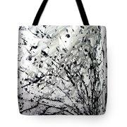 Painting Noir Tote Bag