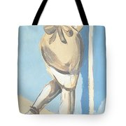 Painting Of A Young Woman Tote Bag
