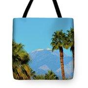 Palm Springs Mountains Tote Bag