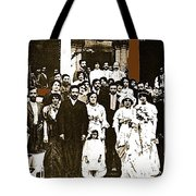 Pancho Villa's Wedding To Luz Corral On May 29 1911-2013 Tote Bag