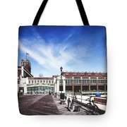 Paramount Theatre - Asbury Park Boardwalk Tote Bag