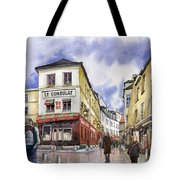 Paris Montmartre  Tote Bag by Yuriy  Shevchuk