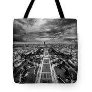 Paris Panorama Tote Bag