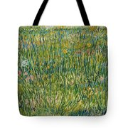Patch Of Grass Tote Bag