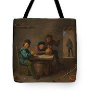 Peasants In A Tavern Tote Bag