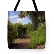 Pelican Island In Florida Tote Bag