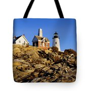 Pemaquid Point Light Tote Bag