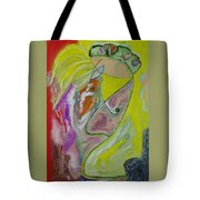 2 People And 2 Trees Tote Bag