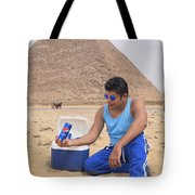 Pepsi Advertisement Tote Bag