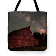 2 Percent Milk At The Moulton Barn Tote Bag