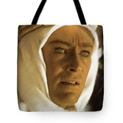 Peter O'toole As Lawrence Of Arabia Tote Bag