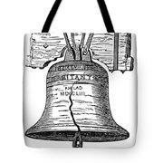 Philadelphia: Liberty Bell Tote Bag