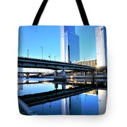 Philly Over The Schuylkill Tote Bag