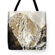 Pico Ruivo Mountain, Madeira, Portugal, C.1900 Tote Bag