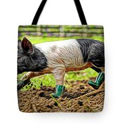 Pig Collection Tote Bag