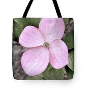 Pink Dogwood Tote Bag