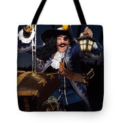 Pirate With A Treasure Chest Tote Bag