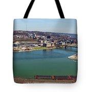 Pittsburgh Panorama Tote Bag