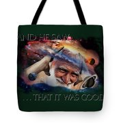 Placing Light In The Firmament Tote Bag