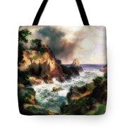 Point Lobos, Monterey, California Tote Bag