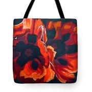 2 Poppies Tote Bag