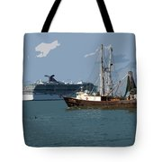 Port Canaveral In Florida Usa Tote Bag