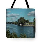 Port Charlotte From Edgewater Tote Bag