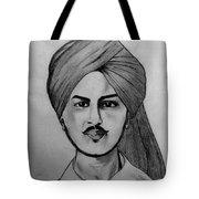 Portrait Art Tote Bag