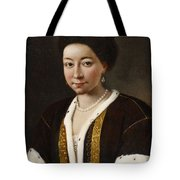 Portrait Of A Russian Lady Tote Bag