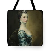 Portrait Of A Young Lady Tote Bag