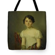 Portrait Of Andrienne Tote Bag