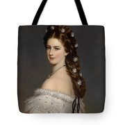Portrait Of Empress Maria Alexandrovna Tote Bag