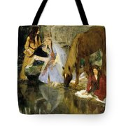 Portrait Of Mlle Fiocre In The Ballet  Tote Bag
