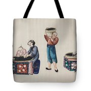 Portraying The Chinese Tea Industry Tote Bag