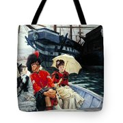 Portsmouth Dockyard Tote Bag