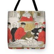 Possibly Johannes De Ketham Tote Bag