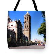 Puebla Mexico 4 Tote Bag