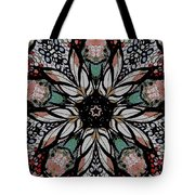 Quilted Starflower Tote Bag