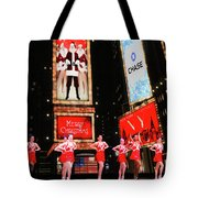 Radio City Rockettes New York City Tote Bag