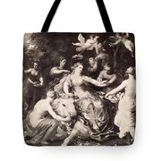 Rape Of Europa Tote Bag