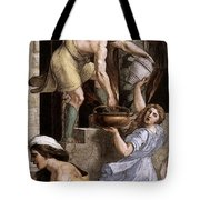 Raphael The Fire In The Borgo  Tote Bag